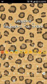 Leopard Pattern-Emoji Keyboard apk screenshot