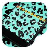 Flower Leopard -Video Keyboard icon