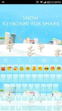 Snow World -Emoji Gif Keyboard poster