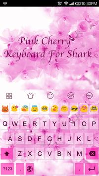 Plum Blossom -Kitty Keyboard poster
