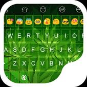 Green Leaves Emoji Keyboard icon