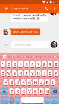 Love Of Passion Emoji Keyboard apk screenshot