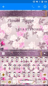 Pink Flower Keyboard-Emoji Gif screenshot 1