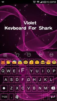 Violet -Kitty Emoji Keyboard screenshot 3