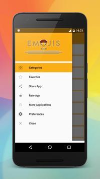 Emoji stickers HD for share screenshot 5