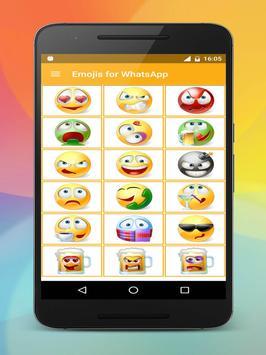 Emoji stickers HD for share screenshot 17