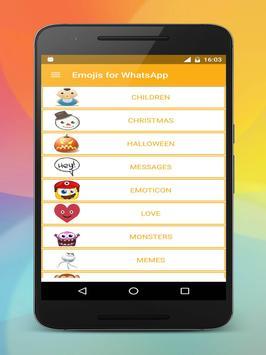 Emoji stickers HD for share screenshot 16
