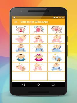 Emoji stickers HD for share screenshot 19