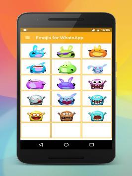 Emoji stickers HD for share screenshot 20