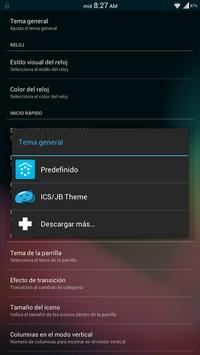 Theme ICS/JB - Smart Launcher apk screenshot