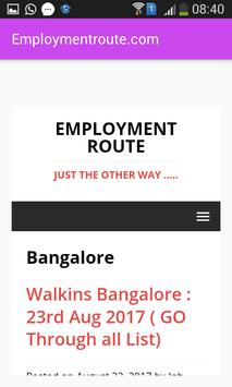 Employmentroute apk screenshot
