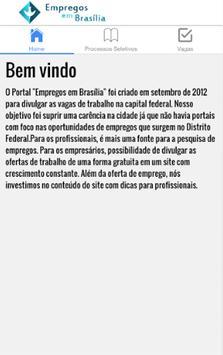 Empregos em Brasília poster
