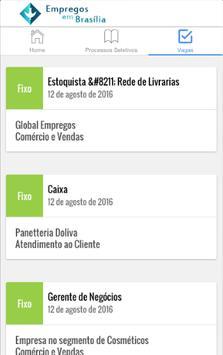 Empregos em Brasília screenshot 1