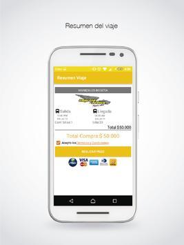 Empresa Arauca S.A. - Tiquetes screenshot 3
