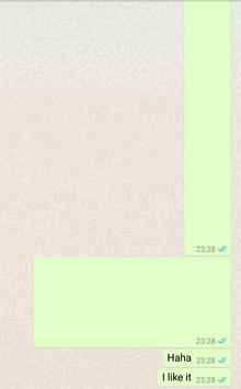 Blank Message for WhatsApp screenshot 1