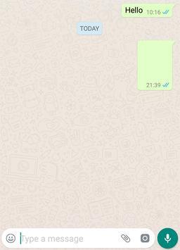 Blank Message for WhatsApp screenshot 2