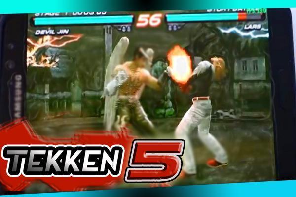 💄 Tekken 5 ppsspp android apk   TEKKEN 1 5 Apk + Mod Unlocked +