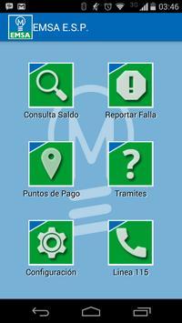 EMSA APP screenshot 1