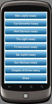 Rosary Audio English - pocket prayers poster
