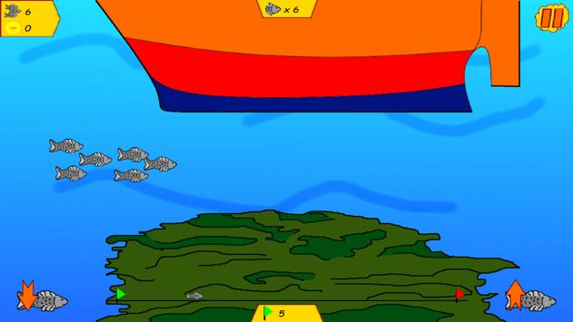 Sea Fish Run apk screenshot