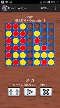 Four In A Line Free : Brain Games screenshot 3