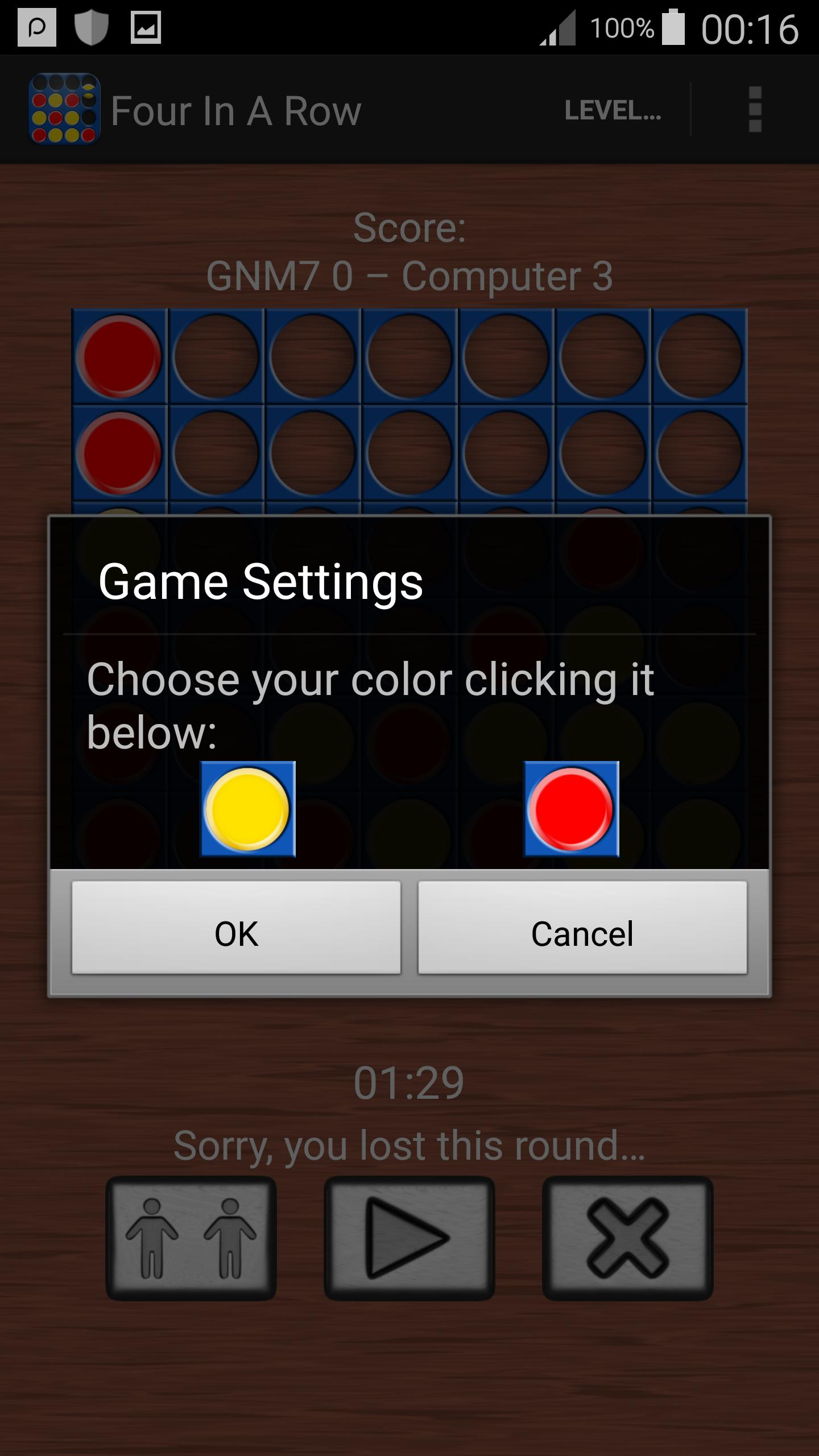 Four In A Line Free : Brain Games for Android - APK Download