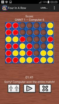 Four In A Line Free : Brain Games screenshot 7