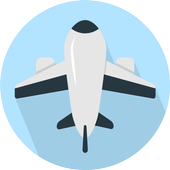 Low cost airlines icon