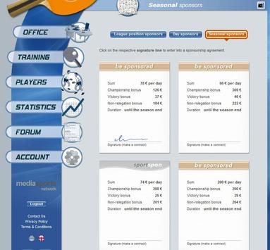 Table Tennis Manager apk screenshot