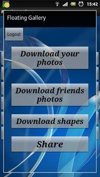 Floating Gallery PRO Live Wall apk screenshot