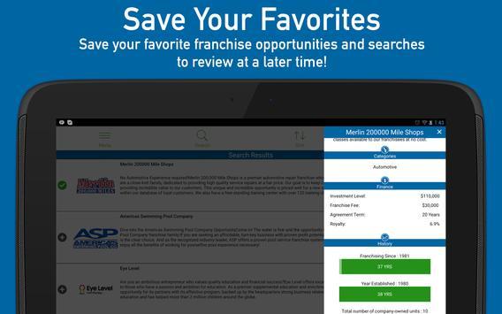 Find Franchises for Sale screenshot 8