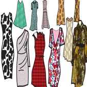 new clothes patterns icon