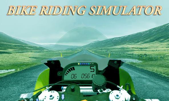 Bike Driving simulator 2017 apk screenshot