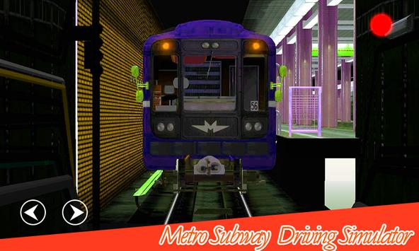Metro Train Subway simulator poster