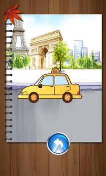 Kids Paintings Coloring - Cars apk screenshot