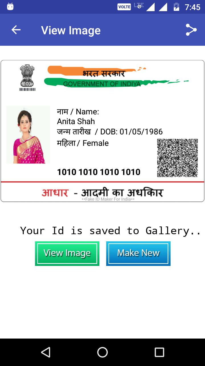 Fake ID Card Maker 2017 for Android - APK Download