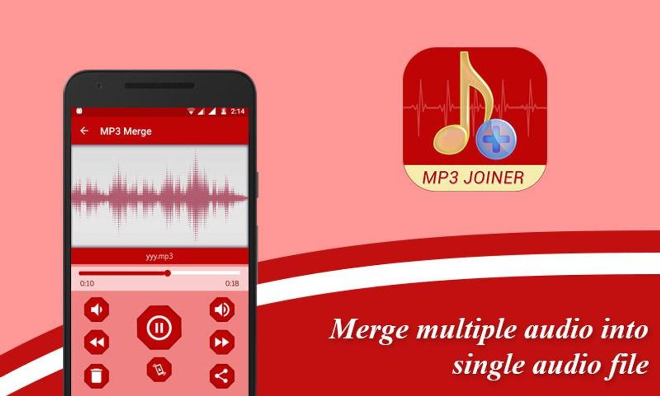 Hasil gambar untuk MP3 Audio and Merger Joiner apk