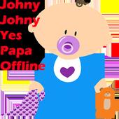 johny johny yes papa eating sugar no papa icon