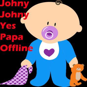 johny johny yes papa eating sugar no papa poster