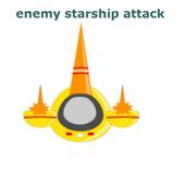 Enemy Starship Attack Free icon