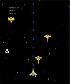 Enemy Starship Attack Free poster