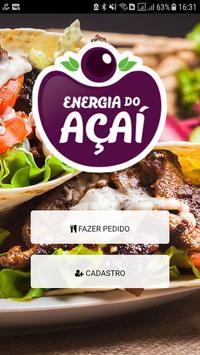 Energia do Açaí poster