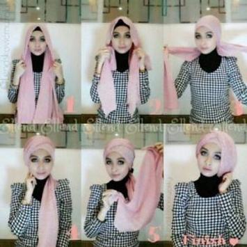 Tutorial Hijab Segi Empat screenshot 4