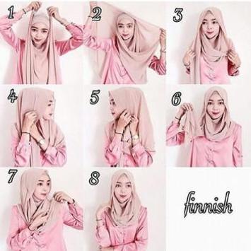 Tutorial Hijab Segi Empat poster
