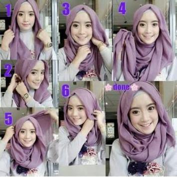 Tutorial Hijab Segi Empat screenshot 3