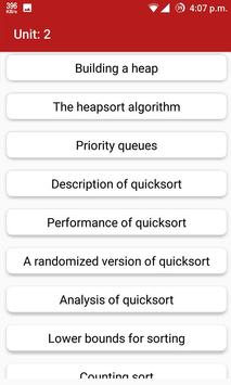 Algorithms screenshot 1
