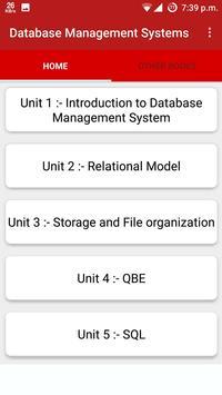 Database Management System poster