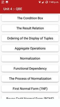 Database Management System apk screenshot