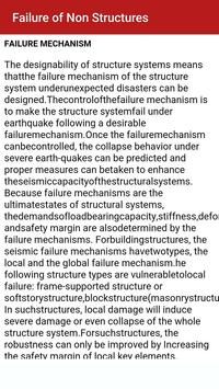 Earthquake Resistant Design apk screenshot