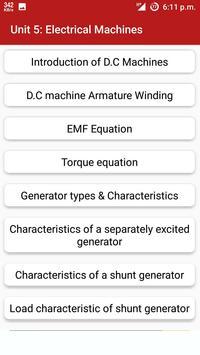 Explore Electrical Engineering apk screenshot